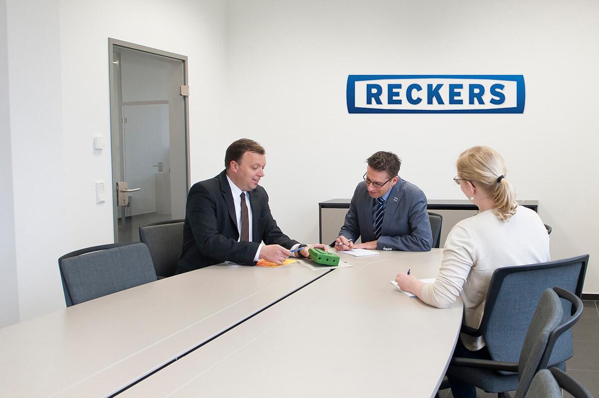 Kundengespräch bei Reckers
