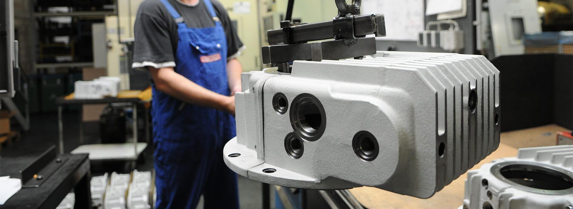 Die Maschinenfabrik von Reckers in Hörstel